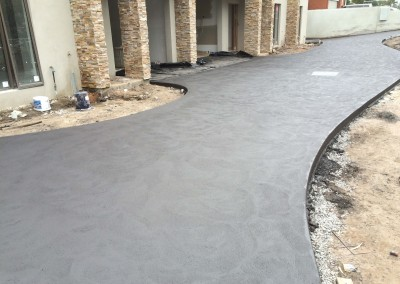 Charcoal Driveway
